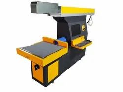 Galvo Laser Machine For Shoe Leather Engraving Cutting