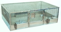 Quail Cage and Trolley