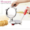 Floraware Steel Puri And Roti Press Roti and Khakra Maker