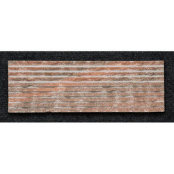 Pink Granite F Pattern Wall Cladding