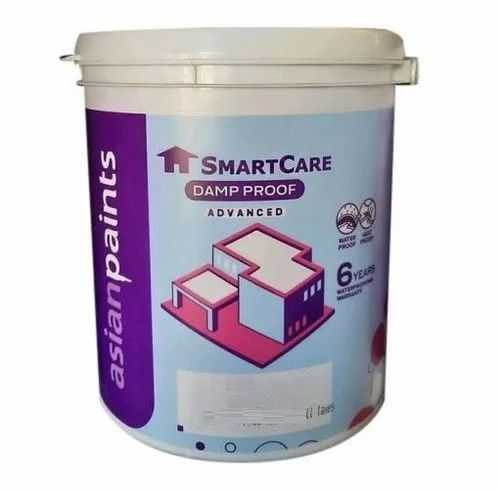 White Asian Smartcare Damp Proof Paint For Home Rs 225 Litre Id 21782262197