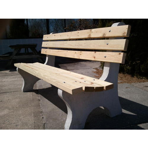 Awesome Cement Garden Bench Dailytribune Chair Design For Home Dailytribuneorg