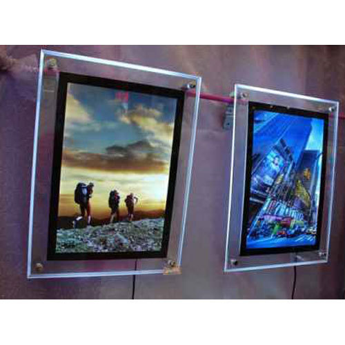 Rectangle And Rectangular Acrylic Backlit Clip Frame, For ...