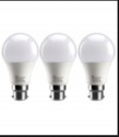 LED 9 Watt Bulb Pack Of 3 - Cool White