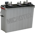 Microtex Train Lighting Batteries, Capacity: 200 Ah