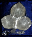 Silver Plated Dry Fruit Tray Set