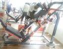 Mild Steel Leg Press Hack Squat Machine