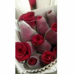 Fresh Red Rose Flower Bundle