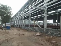 Prefab MS Industrial Building Construction Service, in India