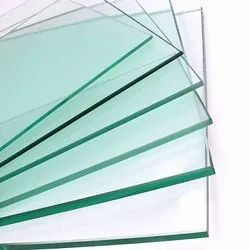 Transparent Toughened Glass Sheets, 10-12 mm