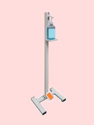 Industrial Hand Free Sanitizer Dispenser Stand