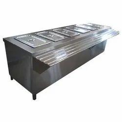 Stainless Steel Rectangular Hot Bain Marie, For Kitchen