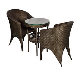 Carry Bird Golden Brown Patio Furniture Set