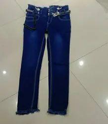 Regular Bottom Girls Jeans