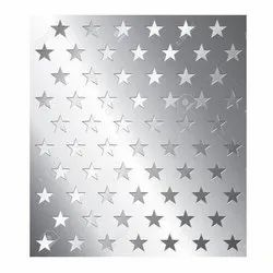 Stainless Steel Star Hole Perforated Sheet