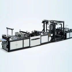 Sahil Graphics Automatic Tri-Dimensional Box Bag Making Machine, 15kw