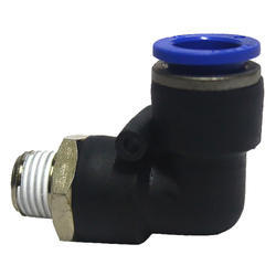 hydraulic and pneumatic elbow push fittings