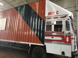Truck Body With Cabin