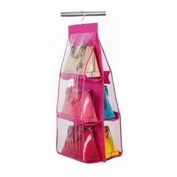 6  Pocket Hanging Purses Organiser