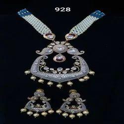 Golden Engagement Jewelry Set