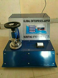 Bursting Strength Tester With Pressure Indicator