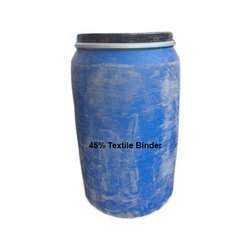45% Textile Binder, 50 Kilogram, Packaging Type: Carboy