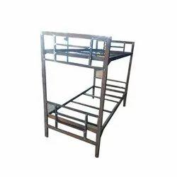 Black Iron Bunk Bed Frame