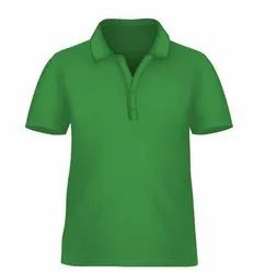 Polo T Shirt- Green - Pack of 5 Pcs