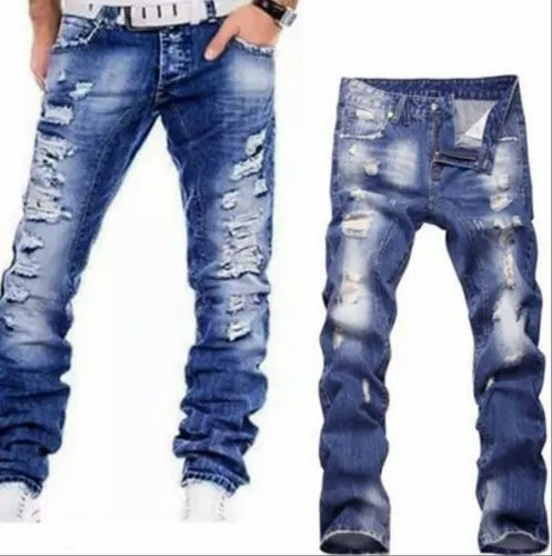66434af4 Mens Denim Ripped Jeans at Rs 560 /piece | Mens Rugged Jeans ...