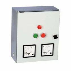 Mild Steel Three Phase Submersible Pump Control Panel, Voltage: 415 V