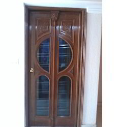 Interior Glass Wooden Door