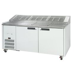 Stainless Steel Pizza Preparation Counter