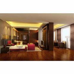 Glossy Finish Wooden Flooring