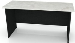 Western Interio Wooden OD 06 Office Table, Size: 5x2.5 Feet