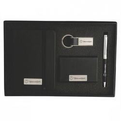 Ball Pen With Keychain Buisness Card Holder Set