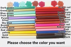 Colored Sealing Wax Sticks