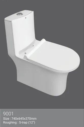 Rimless One Piece Toilet