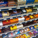 Mild Steel Free Standing Unit Supermarket Chocolate Display Rack