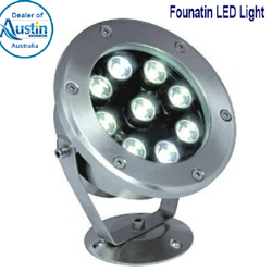Swimming Pool Under Water Light Stainless Steel Led