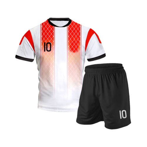 100% Polyester Half Sleeve Volleyball Sports Jersey Kit, Size: Large