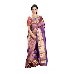 Party Wear Kanjivaram Silk Saree