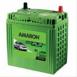 Car Amaron Automotive Battery, 12 V