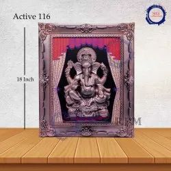 Royal Ganesh Wall Hanging Frame