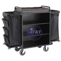 48 Inch Wooden, Mild Steel Hotel Cart Trolley, For Hotels, Load Capacity: 150 Kg
