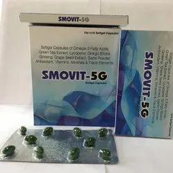 Omega 3 Fatty Acid Green Tea Extract 10mg Ginkgo Biloba 20MG