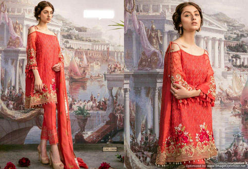 e849daad90 Heavy Designer Georgette Fabric Pakistani Suit at Rs 1500 /piece ...