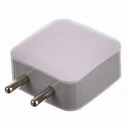 White Plastic Mobile Adaptor