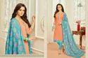 Round Neck Monalisa Suit Salwar Fabric