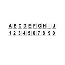 Magnetic Letters / Figures