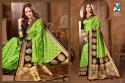Fancy Silk Saree Wedding Wear